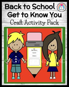 School Craft: Kids and Pencil