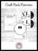 School Craft and Writing Value Pack: Bag,Tree,Germ,Bus,Senses,Feelings,Name