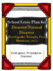 School Crisis Plan Bundle