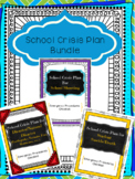 School Crisis Plan Bundle