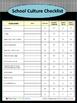 School Culture Checklist for ELA Students