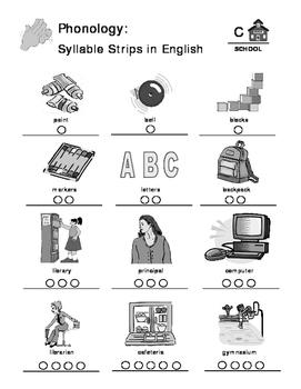 School - Curriculum‐Based Language Enrichment Worksheets & Activities