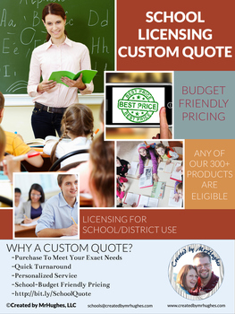 Schools Licensing Custom Quote