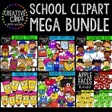 School Dash: ($20.00 Value) Growing Bundle {Creative Clips Clipart}