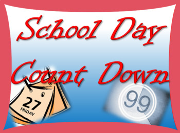 School Day Countdown!