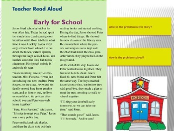 """""""School Day"""" Instructional Guide for Reading Street 2013"""