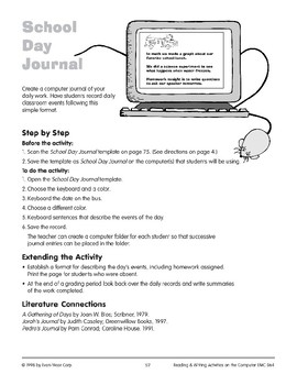 School Day Journal