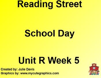 School Day SmartBoard Companion Reading Street Common Core 1st Grade