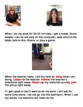 School Day Social Story