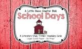 School Days (A Little House Chapter Book) Trifold Literatu