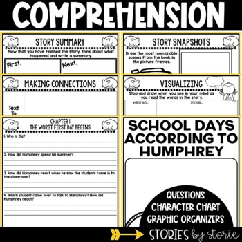 School Days According to Humphrey Book Questions & Vocabulary