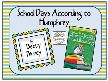 School Days According to Humphrey PowerPoint Presentation and Reflection Booklet