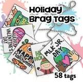 BRAG TAGS (Holiday Edition)
