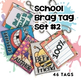 Brag Tags Set #2 | Digital Stickers | Distance Learning