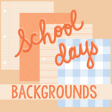 School Days Backgrounds