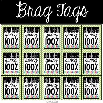 Brag Tags Set #1