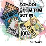 Brag Tags Set #1 | Digital Stickers | Distance Learning