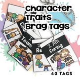 BRAG TAGS (Character Traits Edition) | Digital Stickers |