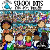 School Days Clip Art Bundle