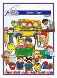 School Days Clipart FREEBIE