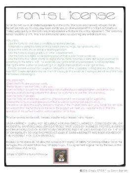 School Days Commercial Font License - Bubbles Fonts