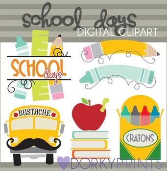 School Days Clipart