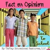 Fact or Opinion Literacy