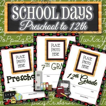 School Days Journal