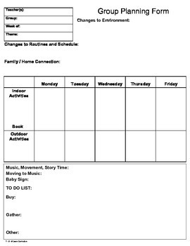 School Days Lesson Plan Week 2