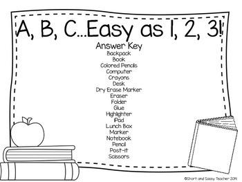 School Days Literacy Centers
