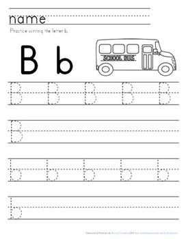 School Days Packet: Preschool & Early Elementary Printables & Activities