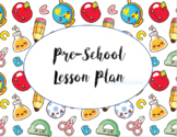 School Days Preschool Lesson Planner
