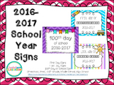 School Days Signs