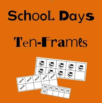 School Days Ten-Frames