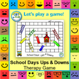 School Days Ups and Downs (Therapy Game)