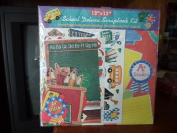 School Deluxe Scrapbook Kit