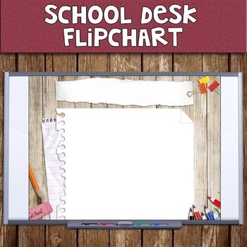 School Desk Flipchart