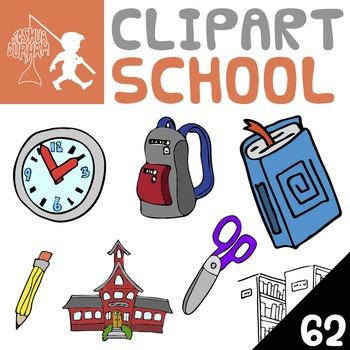 School - Digital ClipArt