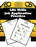 School District Jobs Life Skills Job Application Practice