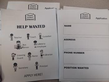 School District Jobs Life Skills Job Application Practice