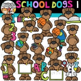 School Dogs 1 Clipart {School Clipart}