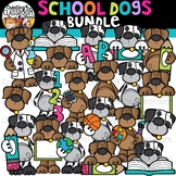 School Dogs Clipart Bundle {School Clipart}