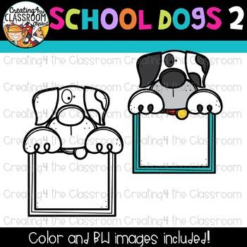 School Dogs Clipart Bundle {School Clipart}