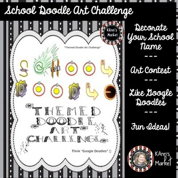 School Doodle Art Challenge (Think Google Doodles) Guidelines and Submission