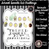School NameDoodle Art Challenge (Think Google Doodles) Gui