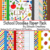 School Doodles Paper Pack