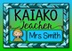 Door Signs {Maori & English labels for the People & Places within your school}