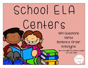 School ELA Centers