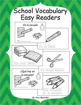 Back to School Easy Readers
