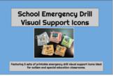 School Emergency Drills Visual Support Cards BUNDLE for Au